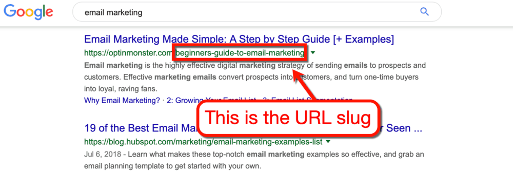 URL Slug nedir