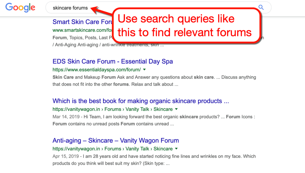 How to Look for Forums in Your Niche