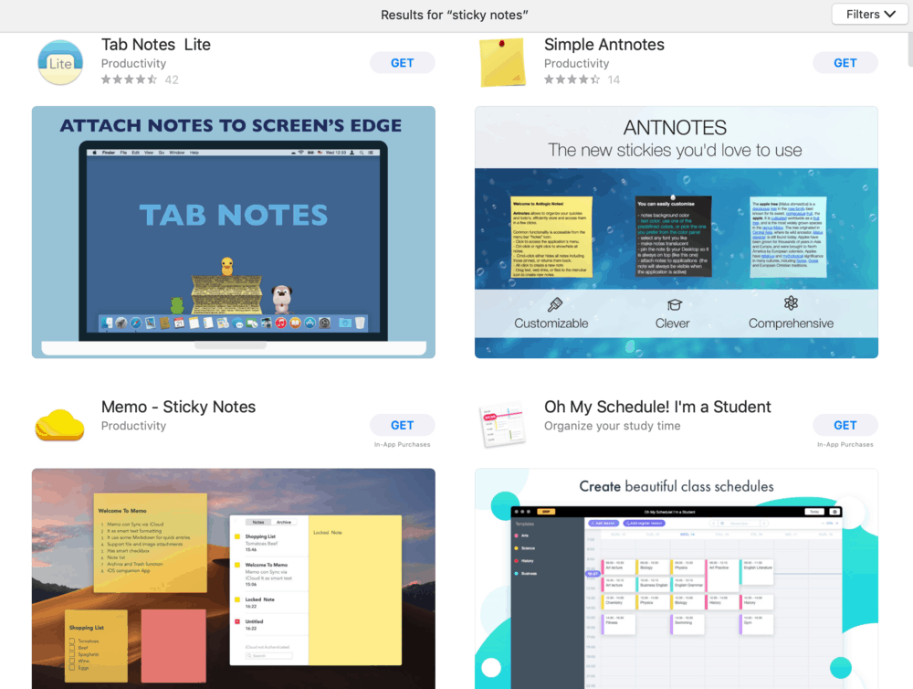 Sticky Notes Apps for MacOS