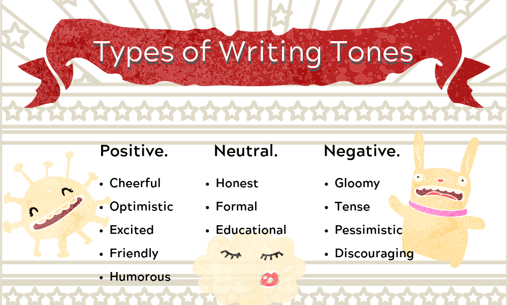 Different Types of Writing Tones
