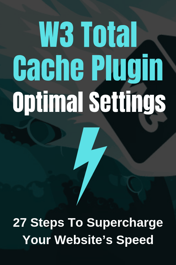 W3 Total Cache Plugin Settings