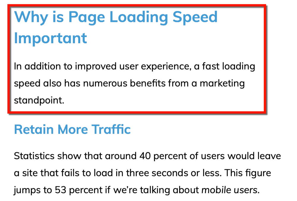 Why Page Loading Speed is Important