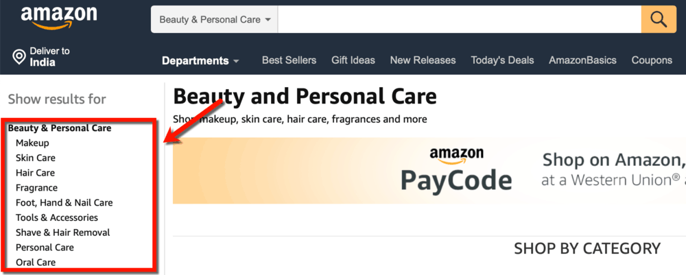 Amazon Beauty and Personal Care Niches