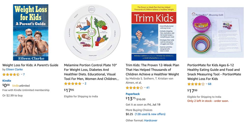 Çocuk Kitapları için Zayıflama