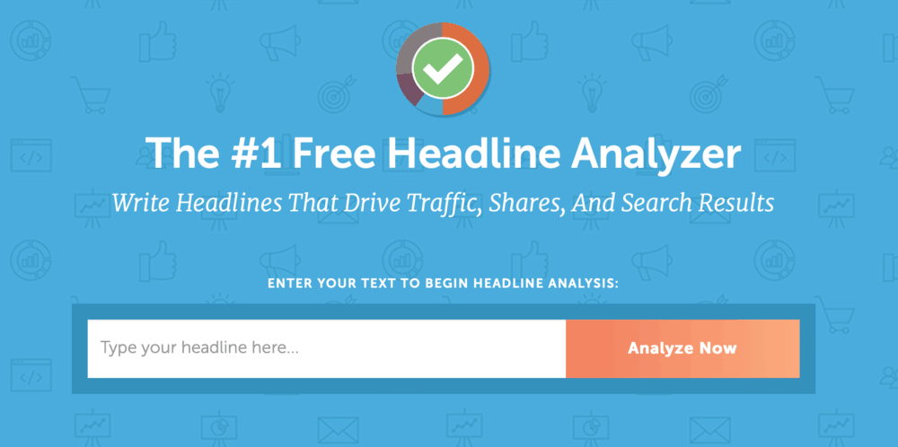CoSchedule Free Headline Analyzer