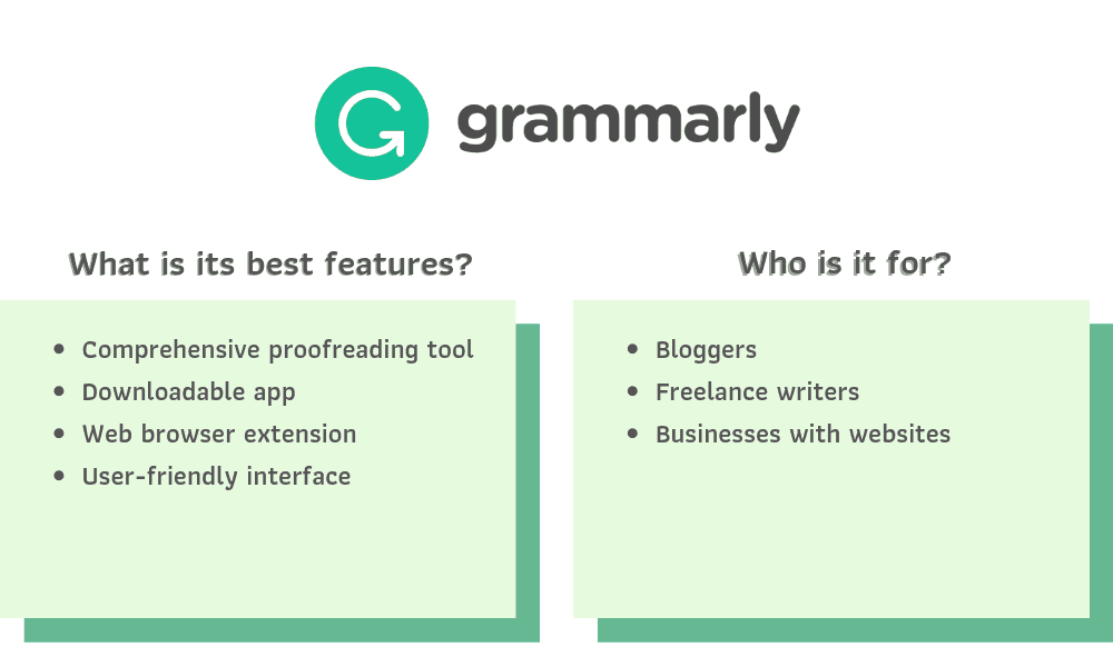 Grammarly Recommendations
