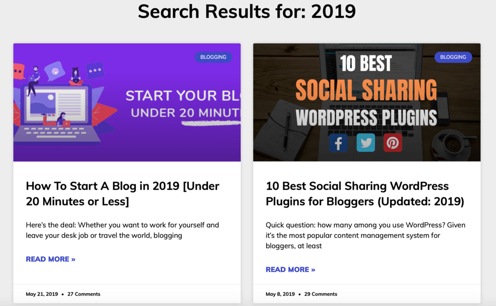 Master Blogging 2019 Search Results