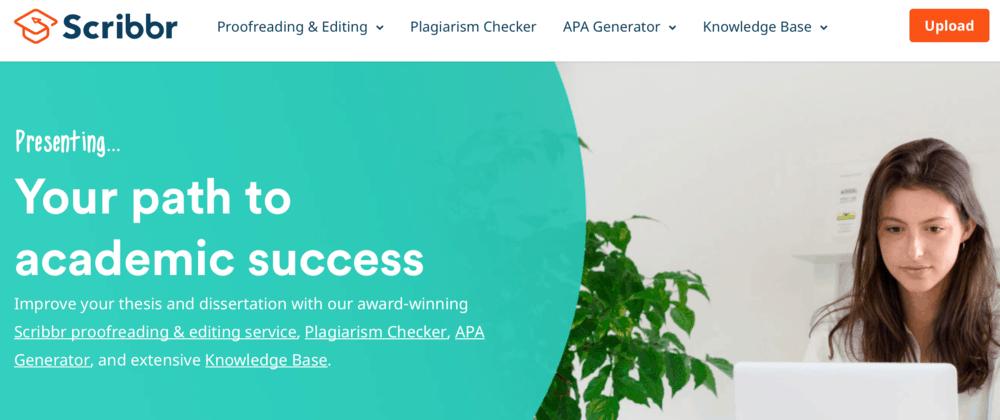 Scribbr Homepage