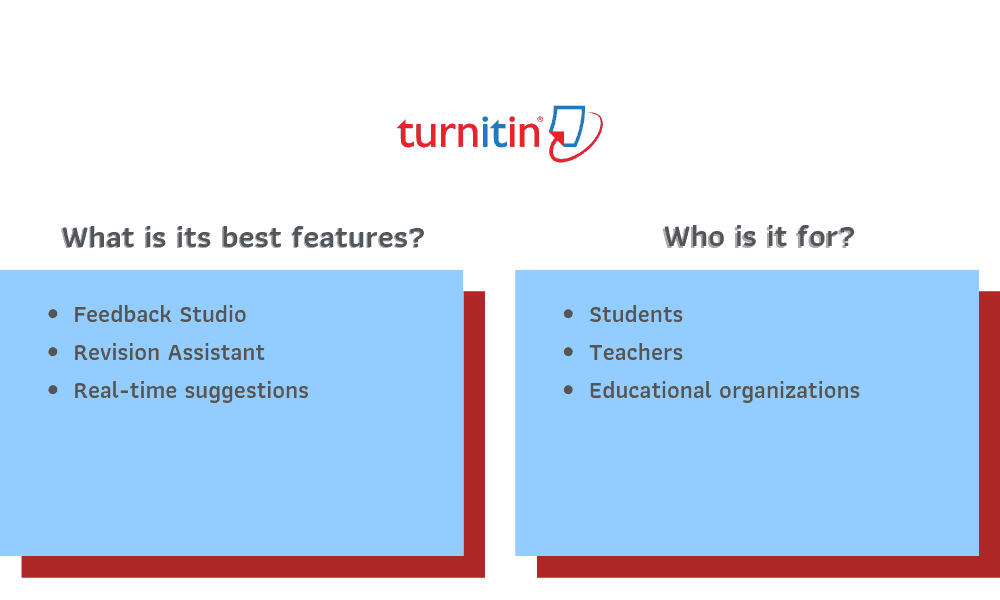 Turnitin Recommendations