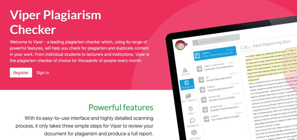 Viper Homepage