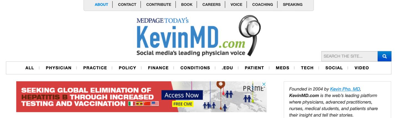 Blog monetization Kevin Pho MD
