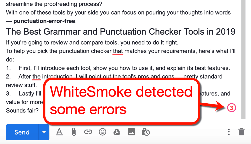 WhiteSmoke Extension Errors