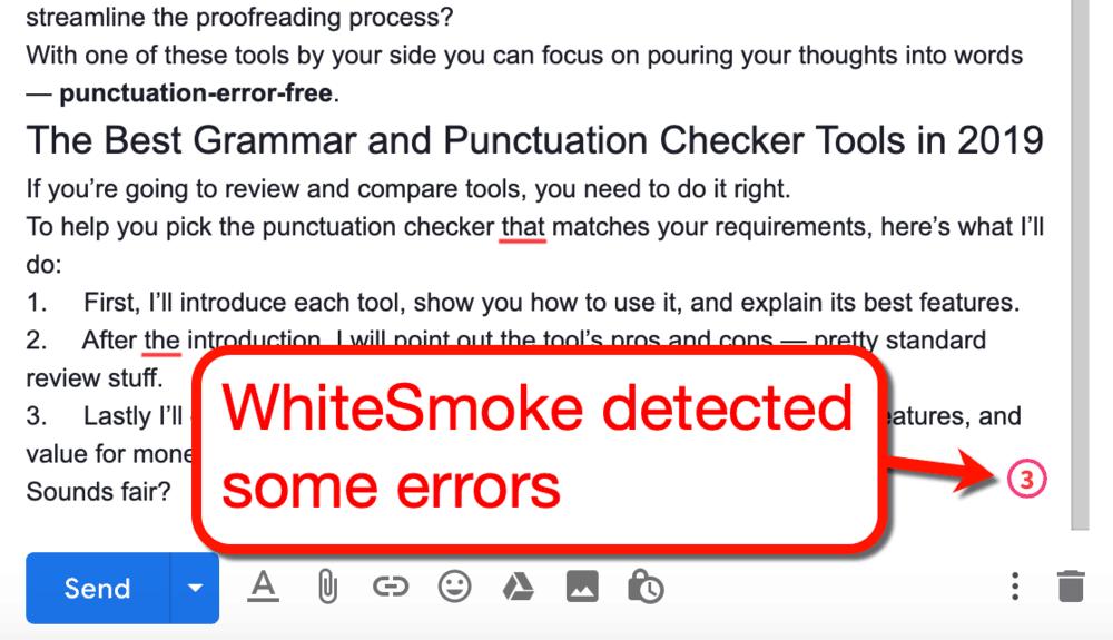 WhiteSmoke Extension Errors