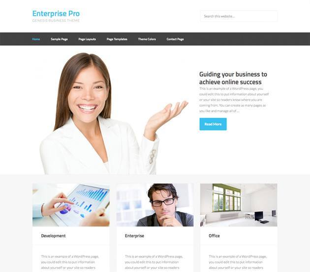 enterprise pro wordpress theme