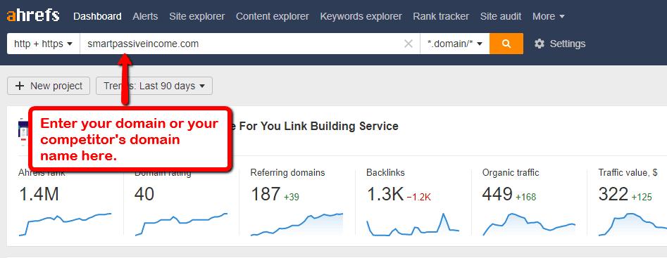 ahrefs backlink tool