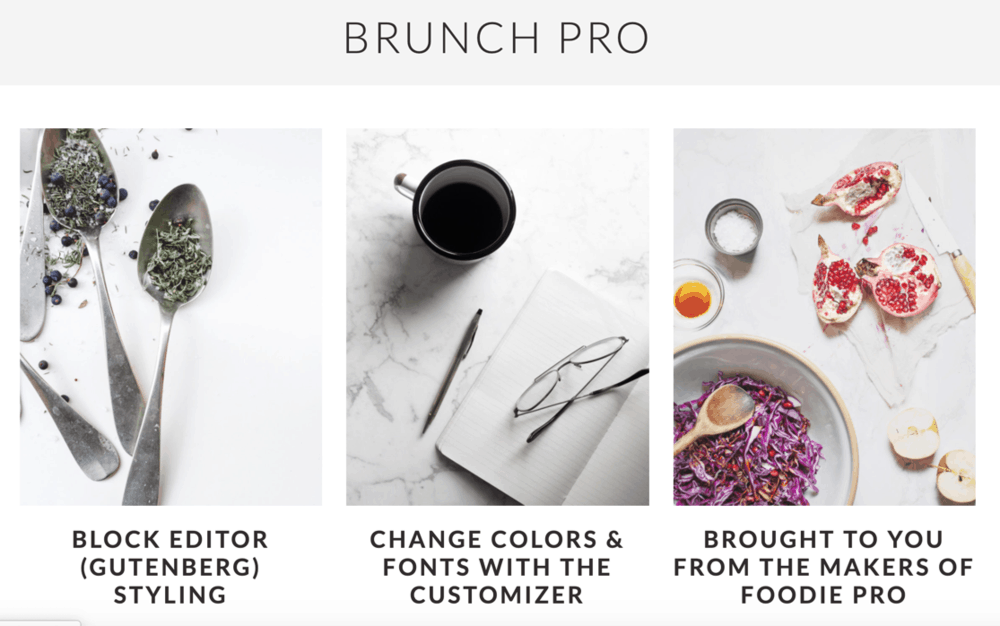 Brunch Pro Blog Theme Preview