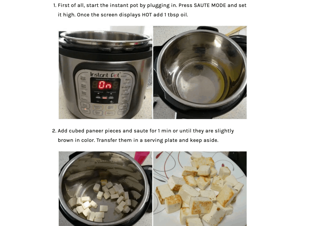 Code2Cook Instructions