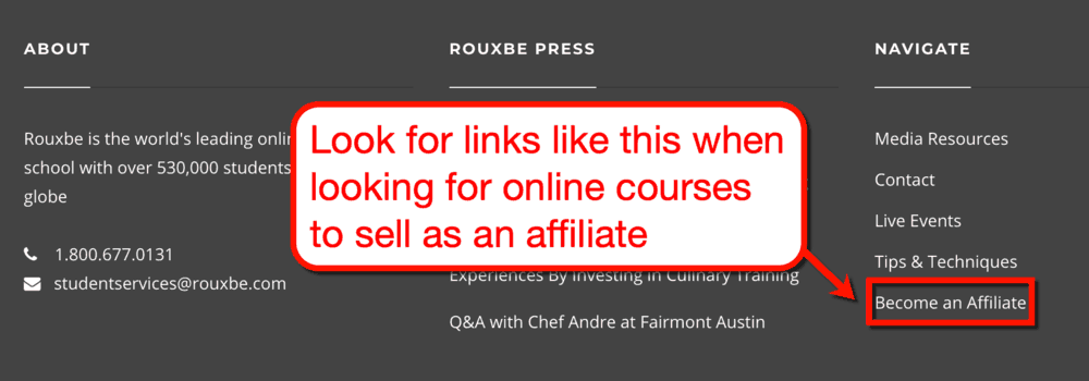 Rouxbe Become an Affiliate