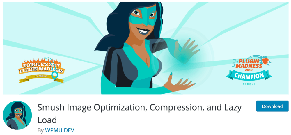 Smush Image Optimization Plugin Page