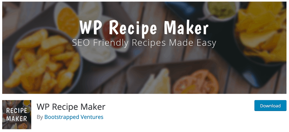WP Recipe Maker
