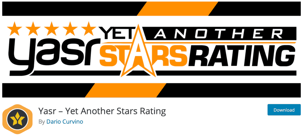Yasr - Yet Another Stars Rating