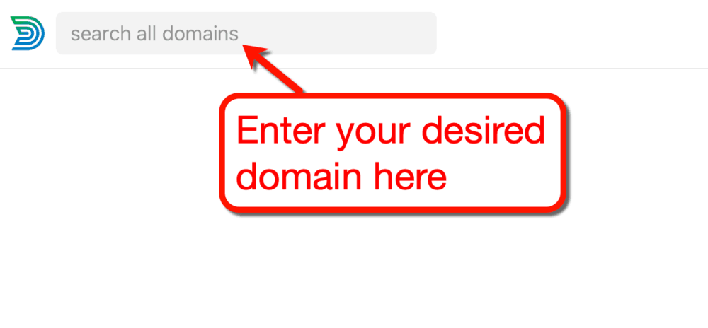 Domainr Search Domains