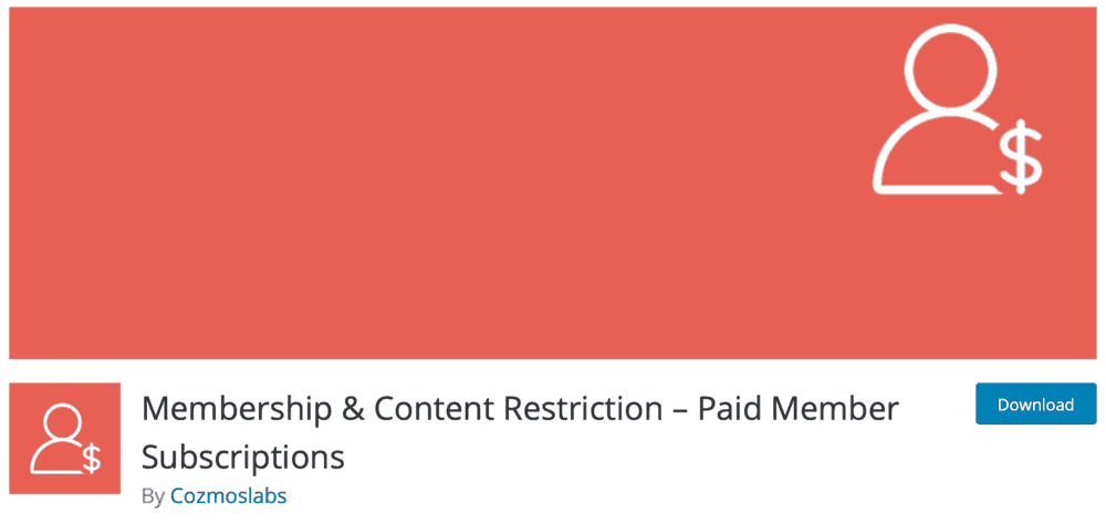 Membership & Content Restriction WordPress Plugin