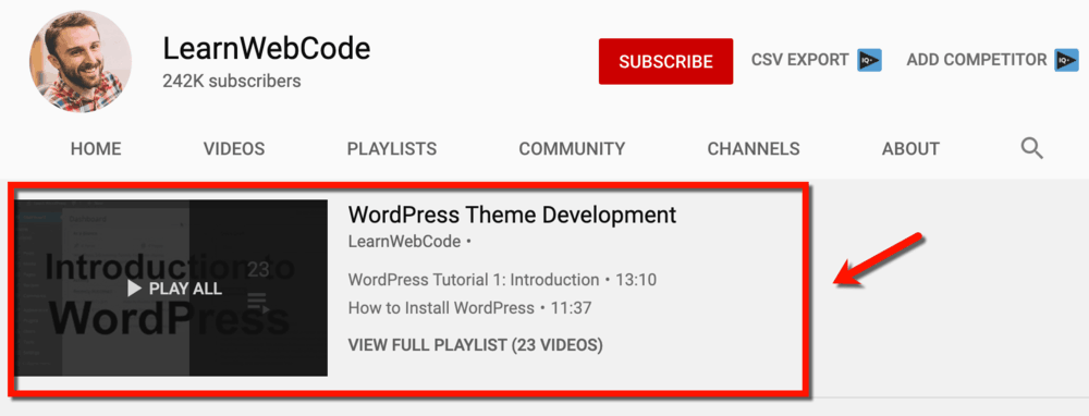 LearnWebCode Top Content