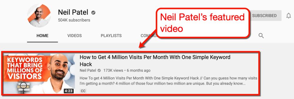 Neil Patel Featured Content