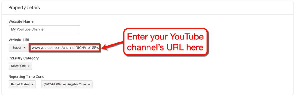 Channel URL