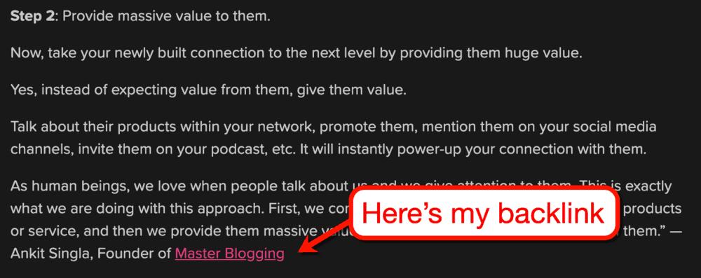 Blerrp Master Blogging Backlink