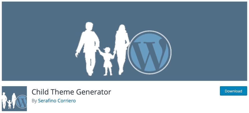 Child Theme Generator