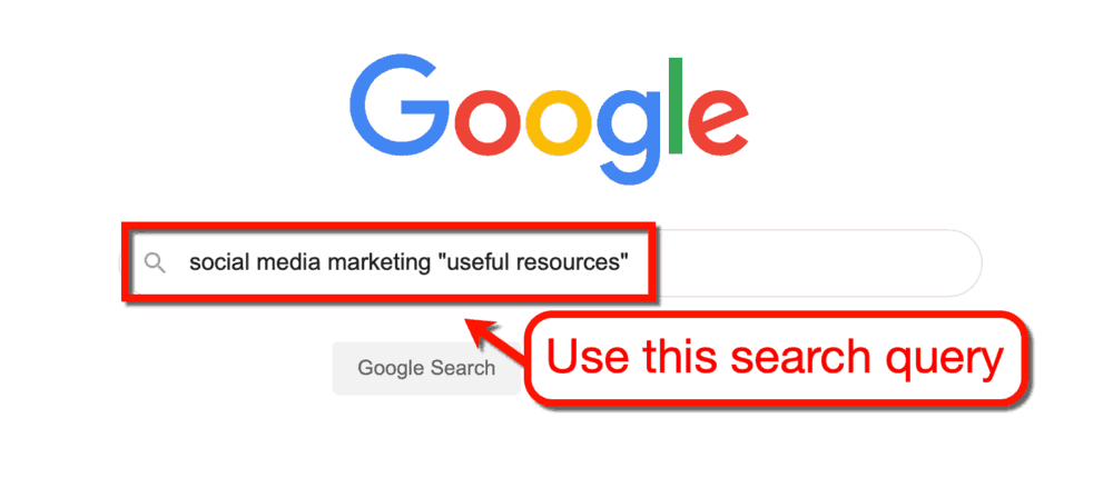 Google Search Query Resource Pages