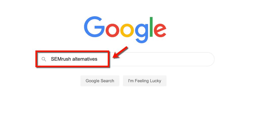 Google SEMrush Alternatives