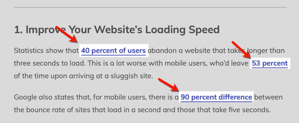Master Blogging Citing Statistics