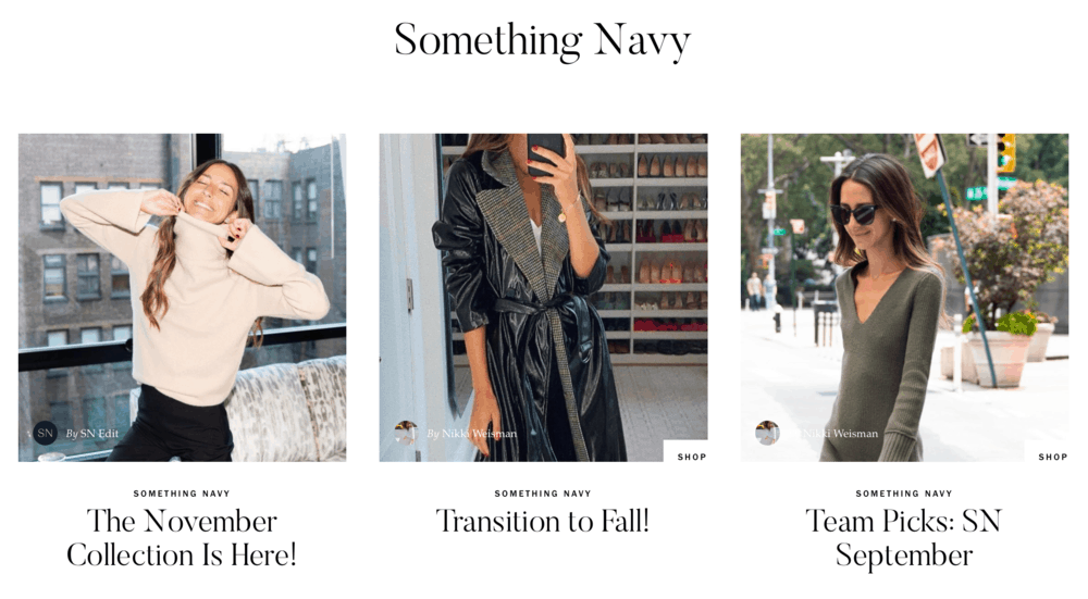 Something Navy by Arielle Charnas