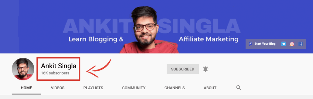 Ankit Singla YouTube Channel