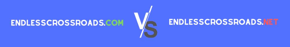 .com versus .net TLD