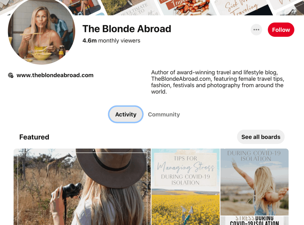 The Blonde Abroad Pinterest