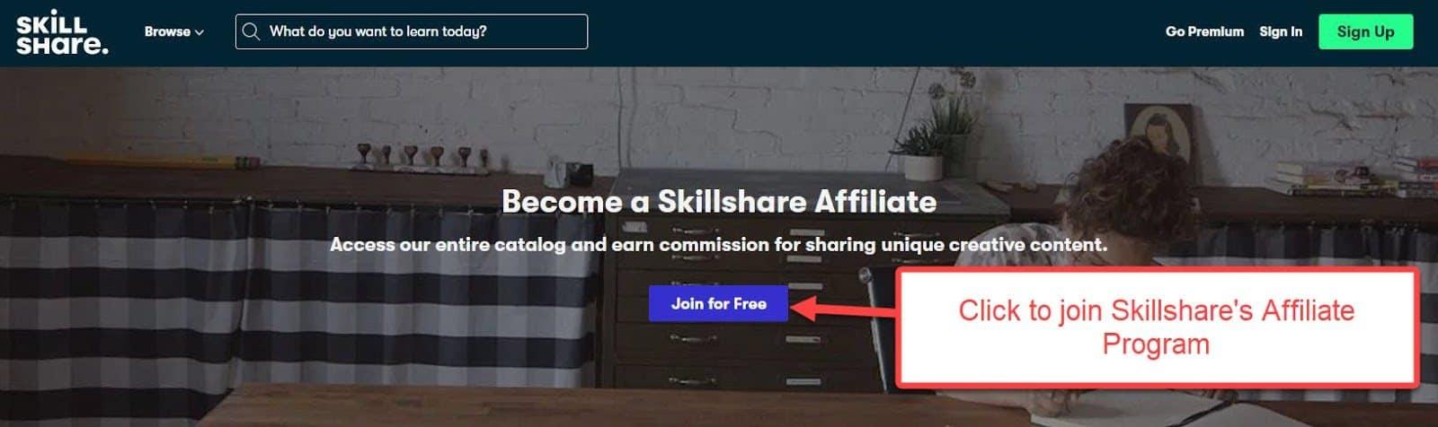 Skillshare affiliate