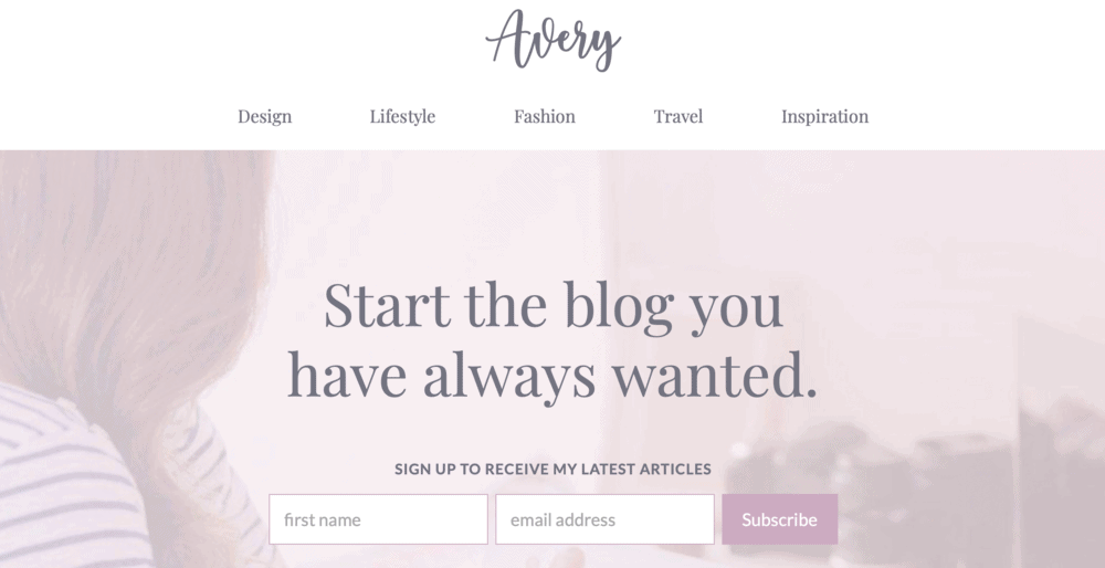 Avery Site Template