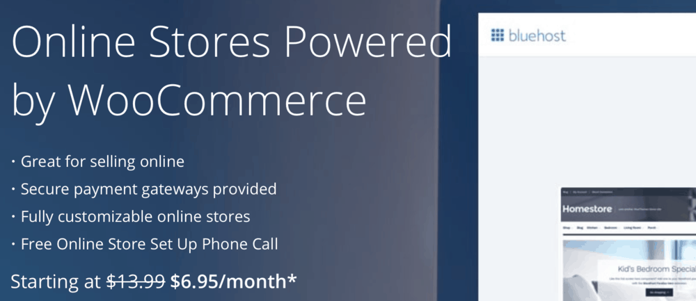 Bluehost eCommerce Hosting