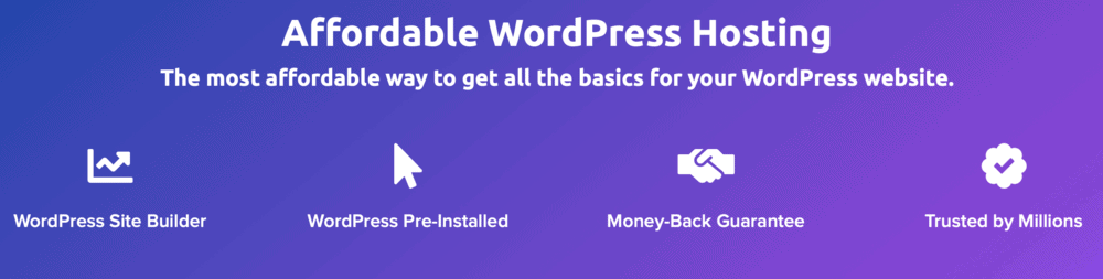 DreamHost WordPress Basic Hosting