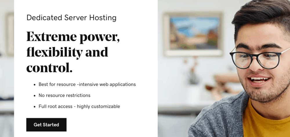 GoDaddy Dedicated Hosting