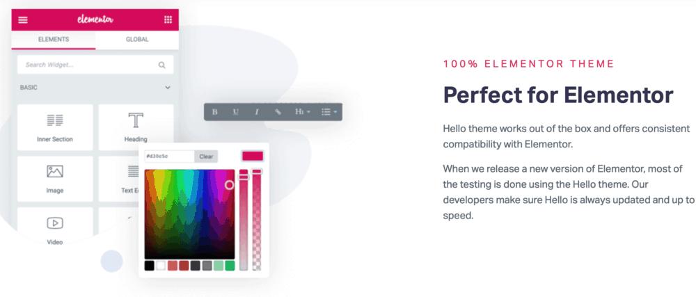 Hello Elementor compatibility