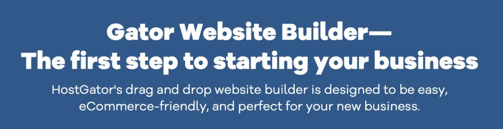 HostGator Website Builder Hosting