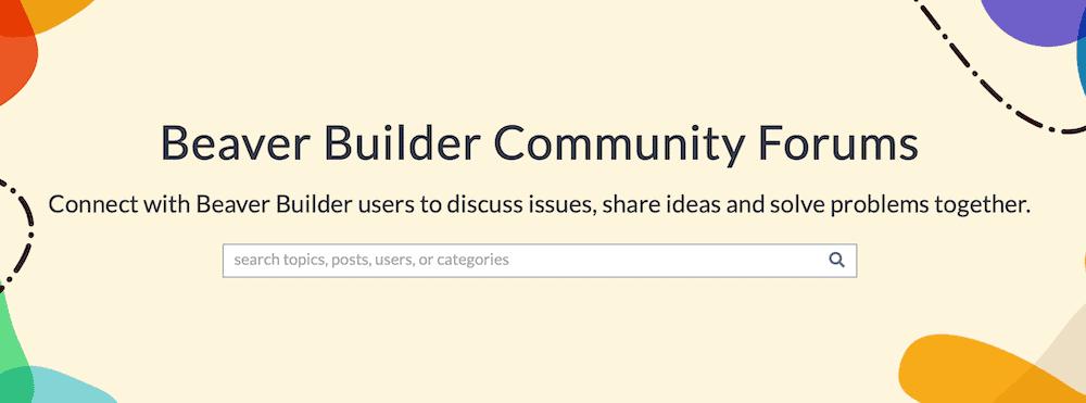 Beaver Builder Community Forums