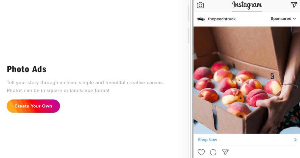 Instagram Photo Ads