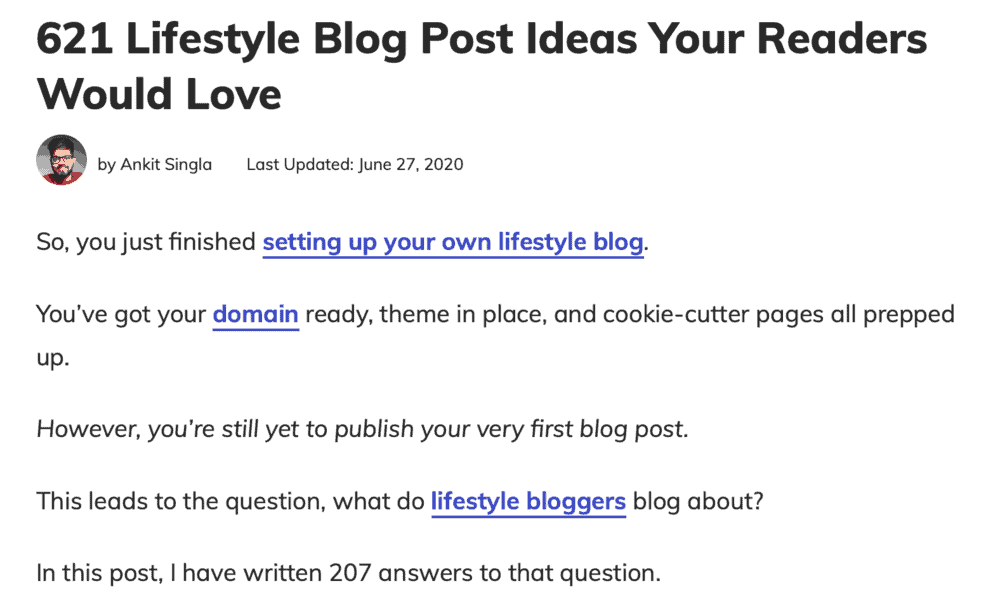 Master Blogging Lifestyle Blog Ideas