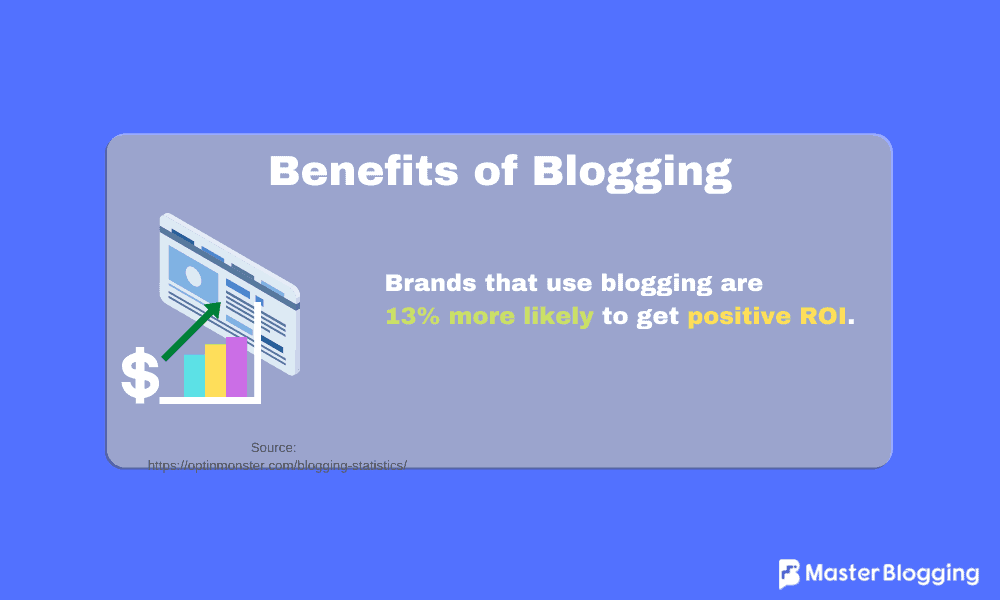 Benefits of Blogging for ROI